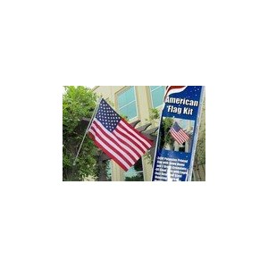 American Flag and Flag Pole Kit by Home and Holiday Flags [並行輸入品]