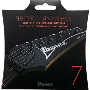 Ibanez Nickel Wound for Electric Guitars 7-Strings/Super Light 09-54 [IEGS7]