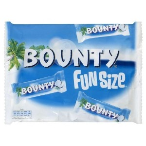 Bounty:milk Chocolate Covered Coconut Fun Size (2) Uk Import by N/A [並行輸入品]