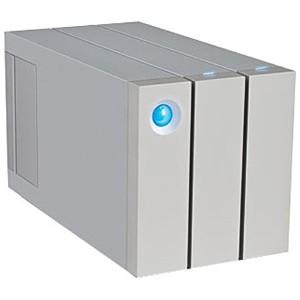 エレコム 外付HDD 8TB[Thunderbolt2/USB3.0・Mac/Win] 2big Thunderbolt2 シルバー LaCie LCH-2BF080TB2UG