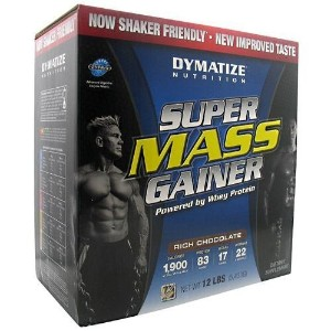 Super Mass Gainer, Chocolate, 12 lb, From Dymatize by Dymatize [並行輸入品]