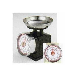 "Kitchen timer ""American scale look"" Black"