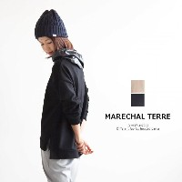 [ZMT171CT724]MARECHAL TERRE(マルシャル・テル)Hooded parka/異素材配色切替パーカー【ゆうパケット対象外】【送料・代引き手数料無料】H