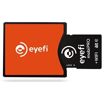 Eyefi アイファイ certified Compact Flash (CF) Type II Adapter for Eyefi Mobi SDCCFA-C15