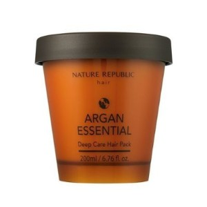 [Nature Republic] Argan Essential Deep Care Hair Pack Hairs Treatment 200ml