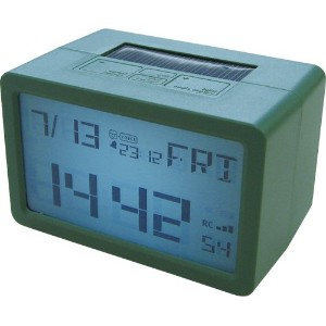 HOUSE USE PRODUCTS(ハウスユーズプロダクツ) LCD表示 置き時計 HYBRID CLOCK FRISCO GREEN ACL077 [正規代理店品]
