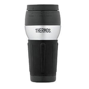 Thermos Stainless Steel 14 Ounce Travel Tumbler with 360 Degree Lid トラベル マグ タンブラー 水筒 400ml