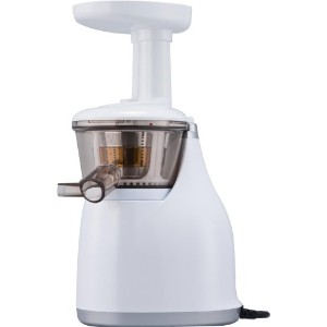 HUROM SLOW JUICER 【酵素で元気! 世界初LSTS方式(低速圧縮搾り)】スロージューサー ホワイトHU-300W