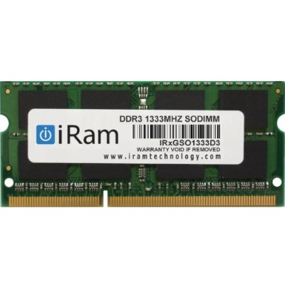 iRam Technology Mac用メモリ DDR3/1333 4GB 204pin SO-DIMM IR4GSO1333D3