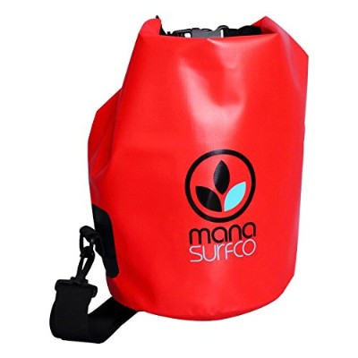 MANA SURF CO(マナ サーフ) WATER PROOF BAG RED M39