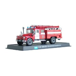 ZIL-130 - 1964ダイキャスト1/57消防車モデル ZIL-130 - 1964 diecast 1:57 fire truck model (Amercom SF-1)