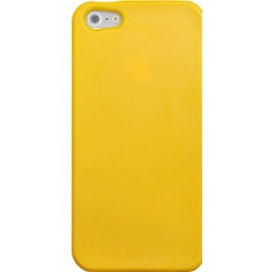 PLATA iPhone 5 5s SE ケース カバー TPU ソフトケース iPhone5 iPhone5s iPhoneSE 【 イエロー 黄 yellow 】