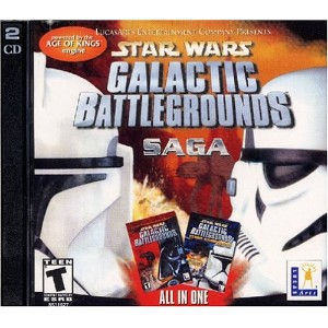 Star Wars Galactic Battlegrounds Saga (Jewel Case) (輸入版)