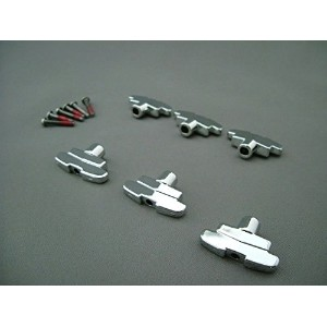 Grover 109/Imperial Tuning Keys Buttons ペグボタン クローム(Chrome) [並行輸入品]