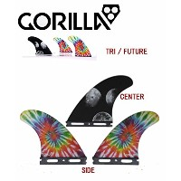 GORILLA FIN【MOON BEAMS & MELON TRI FIN SET】MEDIUMサイズ ゴリラフィン Single Tad FUTURE
