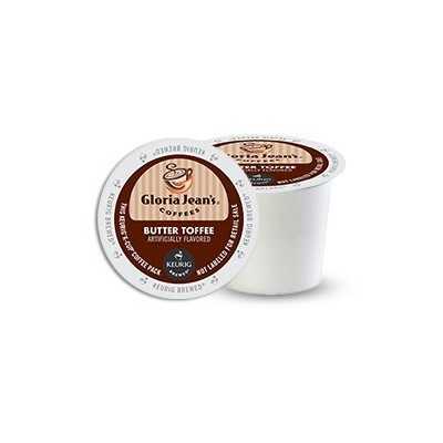 KEURIG Kカップ  Gloria Jean's*Butter Toffee Coffee(24個)【並行輸入品】