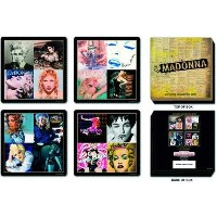 マドンナ / MADONNA Madonna 4 Piece Coaster Set: Mixed designs 【公式商品 / オフィシャル】