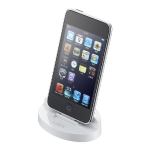 radius DOCK STAND for iPod touch/iPod/iPod nano/iPhone White RA-DKF21W