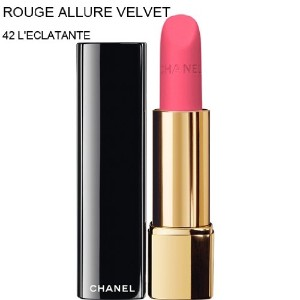 CHANEL-Lipstick ROUGE ALLURE VELVET (42 L'ECLATANTE) (parallel imported item 並行輸入品)