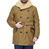 FREEWHEELERS フリーホイーラーズ WINTER AVIATION COAT 1920s STYLE AVIATION CLOTHING HEAVY WEIGHT MOLESKIN...