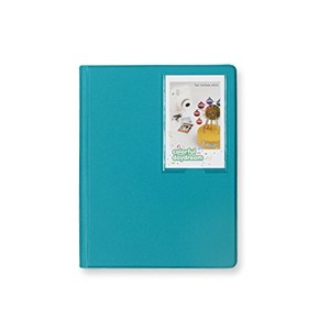 2nul チェキアルバム mini polaroid album L【97枚収納】 (Peacock Green)