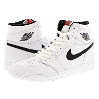 [ナイキ] NIKE AIR JORDAN 1 RETRO HIGH OG WHITE/BLACK/WHITE 【YIN YANG】 [並行輸入品]