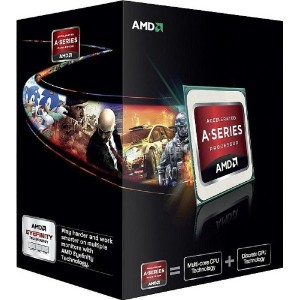 AMD A-Series A6 5400K Black Edition ソケットFM2 TDP 65W 3.6GHz×2 GPU HD7540D  AD540KOKHJBOX