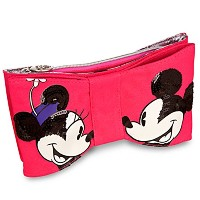 LOOP Bow Minnie and Mickey Mouse Clutch Bag by Disney Couture/ループ・ボウ・ミニー&ミッキー・クラッチ・バッグ(ディズニー・クチュール)...