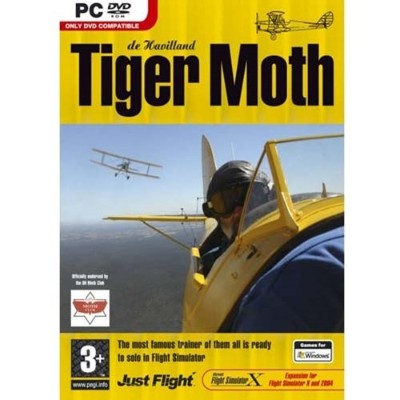 Tiger Moth Expansion for Flight Simulator X/2004 (輸入版)