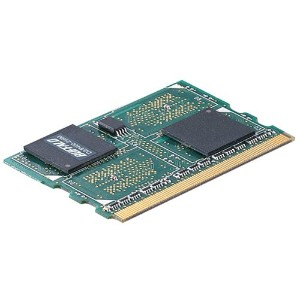 BUFFALO DDR2 400MHz SDRAM(PC3200) 172pin Micro-DIMM 256MB D2/P400-256M