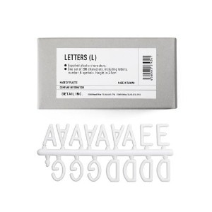 Letters レターズ (L(H2.5cm))