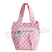 Jessie Steele / ジェシースティール ランチトートバッグ(:、種類:10/Rosy Pink Polka Dot Insulated)[821-js-94RP]