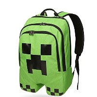 Minecraft Creeper Backpack - マインクラフト クリーパー バックパック リュック
