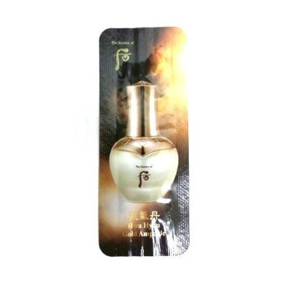 30 X The History of Whoo Cheongidan Hwa Hyun Gold Ampoule 1ml. Super Saver Than Normal Size[行輸入品]
