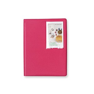 2nul チェキアルバム mini polaroid album L【97枚収納】 (Rose Pink)