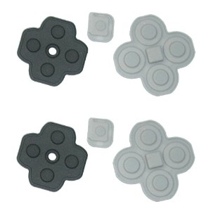 Msfort Repair parts series 3DSボタンゴム 2セット 【Msfort 修理部品シリーズ】