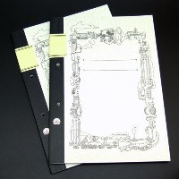 ReUdo Thinking Power Notebook スティームパンク(A4+ノート縦長)(穴あり) 2冊セット TPN-A4T-SP2H