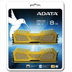A-DATA メモリモジュール ( DDR3-3100 ・ 4GB×2 ・ CL12 ・ GOLD ) AX3U3100W4G12-DGV