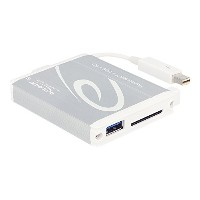 DeLOCK Thunderbolt Tether cable USB3.0変換アダプタ + SD UHS-Ⅱ対応カードリーダー 【91723】