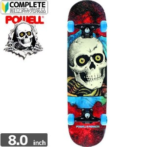 POWELL POWELL PERALTA パウエル コンプリート RIPPER COSMIC RED COMPLETE ASSEMBLY8 x 32.125 NO67