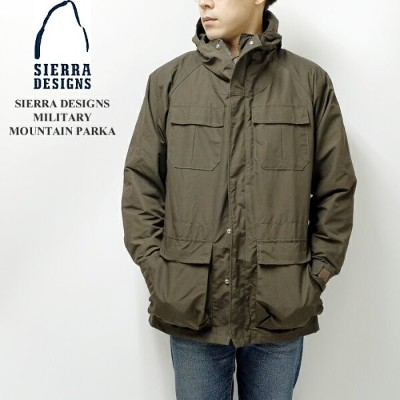 SIERRA DESIGNS シエラデザインズ MILITARY MOUNTAIN PARKA 2001K