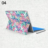 gotor® Surface Pro 4 Surface Pro3対応用 バックフィルム 背面保護フィルム 保護 衝撃 傷 シート 背面カバーステッカー (Surface Pro 4 , 04)