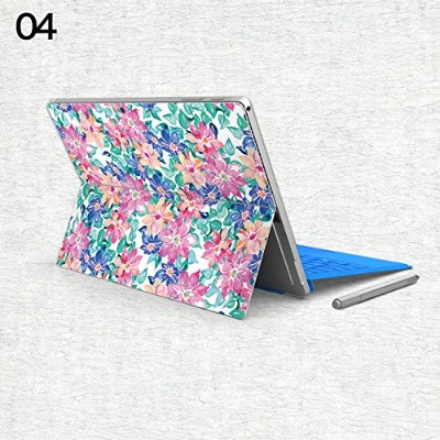 gotor® Surface Pro 4 Surface Pro3対応用 バックフィルム 背面保護フィルム 保護 衝撃 傷 シート 背面カバーステッカー (Surface Pro 4, 04)