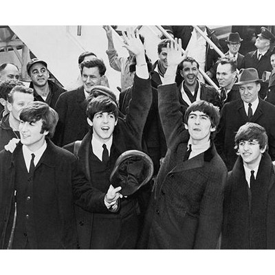 写真プリント The Beatles Arrive at JFK Airport, February 7, 1964