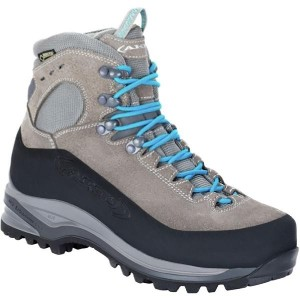 (取寄)AKU レディース Superalp GTX バックパッキング ブーツ AKU Women Superalp GTX Backpacking Boot Light Grey/Turquoise