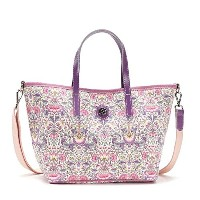 bonfanti ボンファンティ SMALL TOTE WITH STRAP トートバッグ ライトパープル 867365 [並行輸入品]