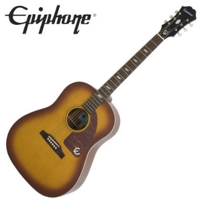 Epiphone Inspired by 1964 Texan Vintage Cherry テキサン エレアコギター (エピフォン)
