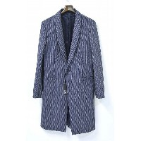 【新品】1205 (Twelve O Five、Twelve Zero Five、ドーディチ・ゼロ・チンクエ イチニーゼロゴ)Herringbone Shawl Collar Coat...