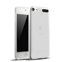 Dolphin47 Edge ipod touch6 TPU オリジナルipod touch 6ケース 極薄 ソフト クリア 簡約風 超軽量 耐衝撃 TPUケース (クリアホワイト)