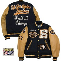 "Whitesville/ホワイツビル 30oz WOOL MELTON AWARD JACKET FULL DECORATION""St.Joe Ogden Spartans"" フルデコレーション..."